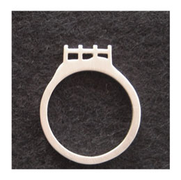 SCENIC STACK RING: FENCE